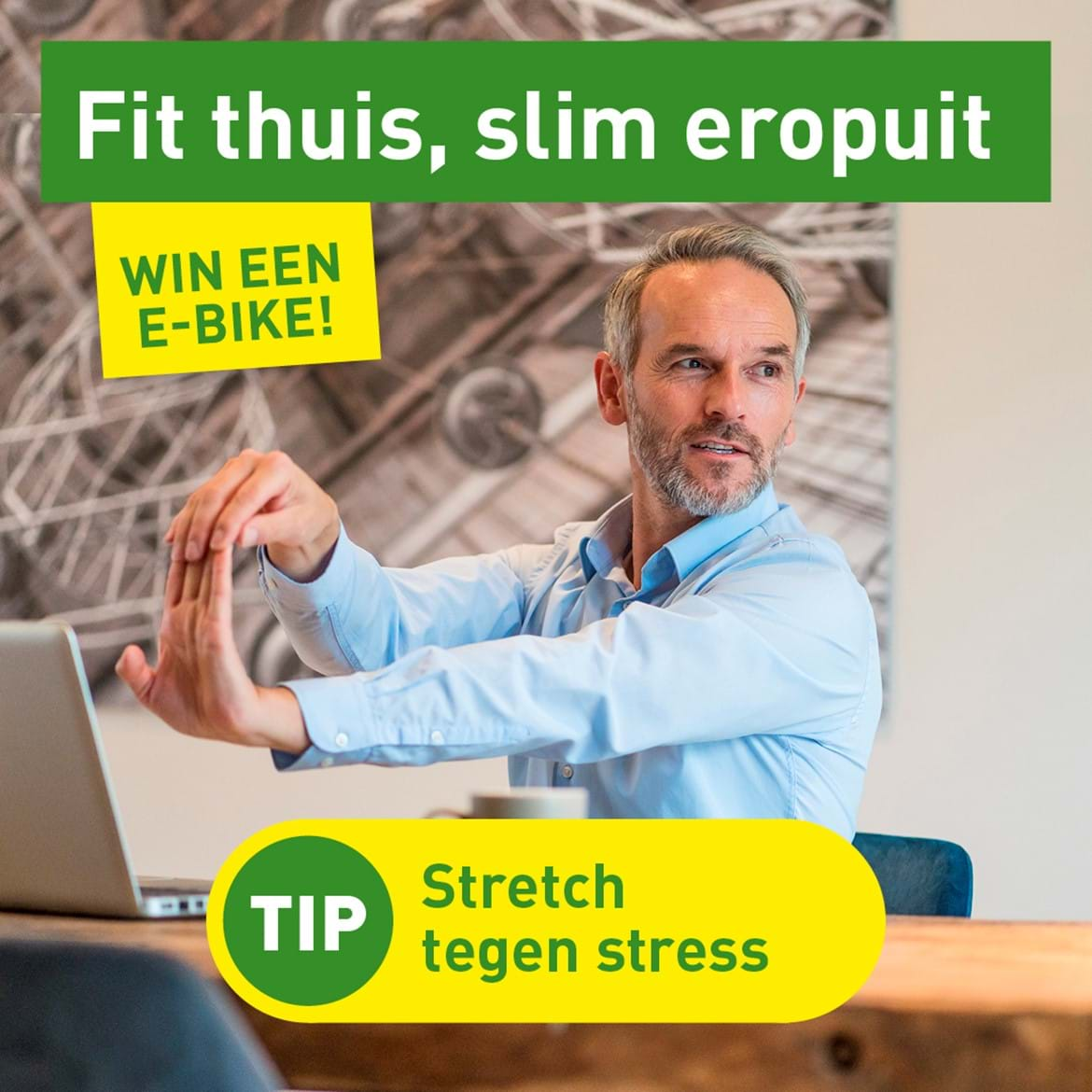 Banner Campagne Fit Thuis, Slim Eropuit 3